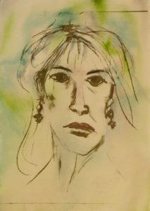 Self Portrait Inspired by Warhol