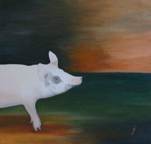Hazel the Pig